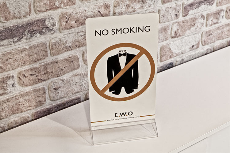 No Smoking Schild