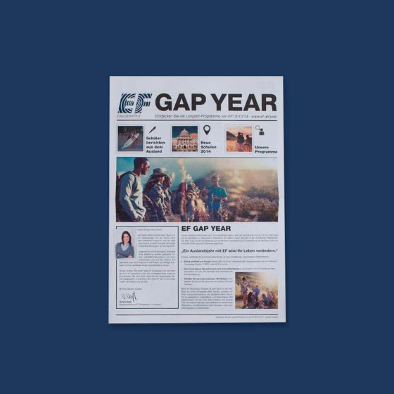 Education First Gap-Year-Zeitung