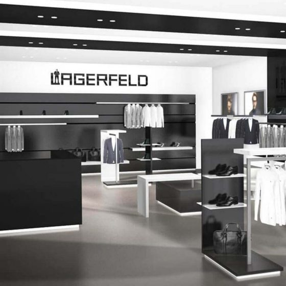 Lagerfeld Retail Concept