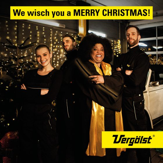 Vergölst X-Mas Kampagne – We Wisch You A Merry Christmas